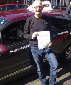 First time driving test pass bury