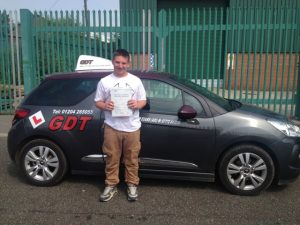 Driving test pass bury