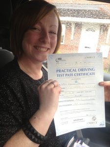 passed driving test in bolton