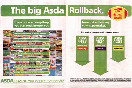 Asda Roll back